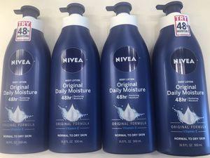 Nivea lotion for Sale in San Jacinto, CA