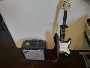Squier Fender Strat Electric Guitar for Sale in East Los Angeles, CA