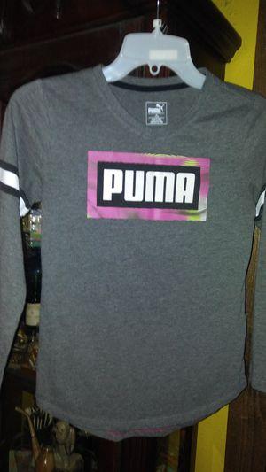 Puma long sleeve shirt girls size 14-16 for Sale in Garland, TX