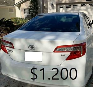 🎁$1.20O🎁Runs and drives excellent Clean title🎁 2013 Toyota Camry 🎁is 𝓿𝓮𝓻𝔂 𝓬𝓵𝓮𝓪𝓷 inside and out everything works🎁 for Sale in San Francisco, CA