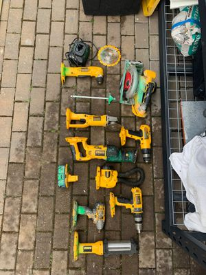 12 pc DeWalt cordless power tool set for Sale in San Jose, CA
