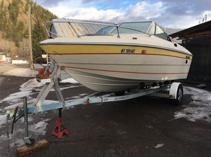 78 fiberform cabin cruiser v8 185HP for Sale in Missoula, MT