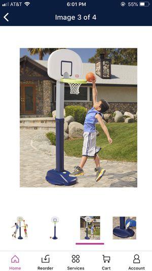 Little Tikes Adjustable Basketball y for Sale in Pembroke Pines, FL