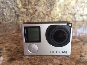 Go pro Hero4 Silver for Sale in Hialeah, FL