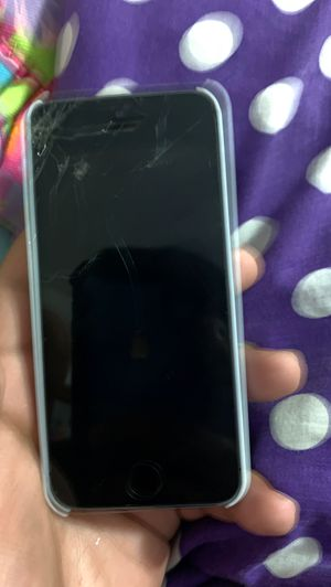 I phone 5 with Messi case for Sale in Marietta, GA