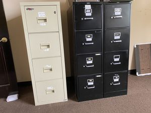 Fire King fireproof and HON file cabinets for Sale in Alexandria, VA