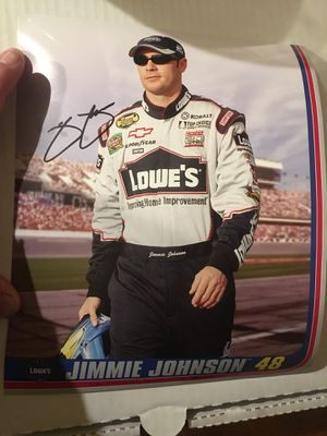 Signed Jimmy Johnson Photo for Sale in Quincy, IL