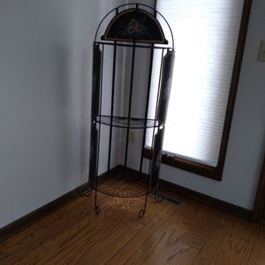Freestanding Half Moon Decorative Book Shelves for Sale in Columbus, OH