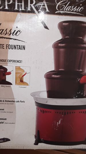 Sephra chocolet fountain for Sale in Hudson, NH