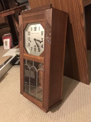 Antique German Westminster wall clock for Sale in Columbia, SC