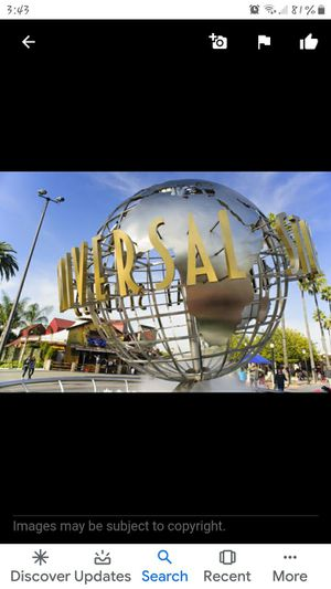 Universal's studios horror nights tickets for Sale in Lake Elsinore, CA