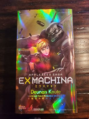 Hot Toys MMS 51 Appleseed Saga Ex Machina - Deunan Knute 1/6 scale figure for Sale in Phoenix, AZ