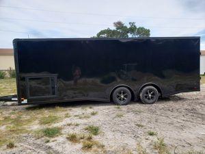 8.5x24 racecar toy hauler trailer new for Sale in Hudson, FL