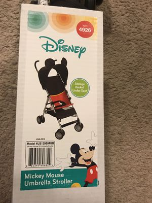 Umbrella Stroller Disney Mickey Mouse for Sale in Germantown, MD