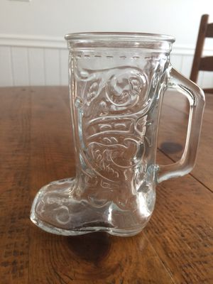 Vintage Boot Glass for Sale in Chino Hills, CA
