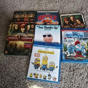 All 7 dvds for $5 for Sale in Manassas, VA
