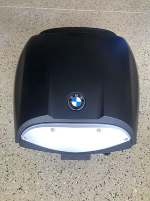 Motorcycle helmets and BMW Top Case for sale for Sale in Riverside, CA