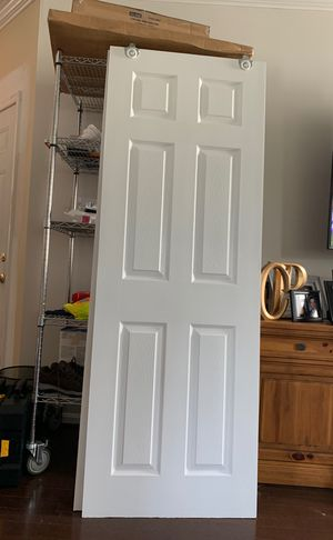 "(2) 48"" Sliding Doors Brain New / Painted White for Sale in Germantown, MD"