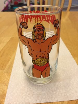 Hulk Hogan - collectors glass for Sale in Woodstock, GA