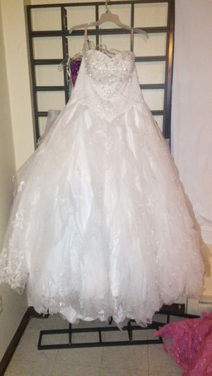Quinceanera or wedding dress for Sale in Boston, MA