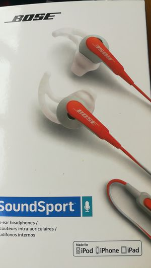 Bose soundsport headphone for Sale in College Park, MD