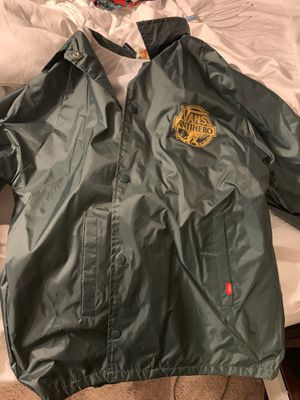 Vans size L adult wind jacket for Sale in Nicholasville, KY