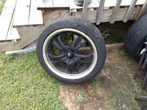 3 black 17 inch rims American racing for Sale in Ashville, OH
