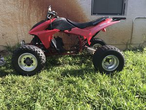 Clean title 2004 TRX 450R with gsxr 1000 for Sale in Oakland Park, FL