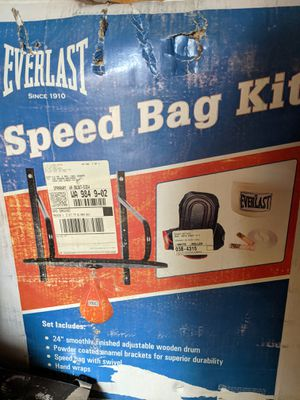 Everlast speed bag kit for Sale in Spanaway, WA