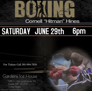 Boxing live in laurel June 29 for Sale in Washington, DC