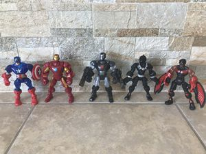 """Marvel Legends Avengers 6"""" Action Figures Set of 5 for Sale in Riverview, FL"""