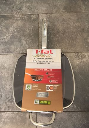 T-fal 5Qt Square Multipot for Sale in Spring Hill, FL