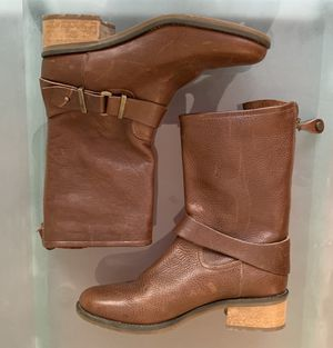 Italian leather Women's mid calf boot 8 1/2 for Sale in Denver, CO