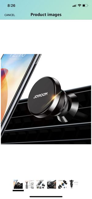 Phone Holder for Car [6 Strong Magnets] Joyroom Air Vent Car Phone Mount, 360 Adjustable Phone Car Holder, Universal Cell Phone Stand for Car Fit for for Sale in Brooklyn, NY