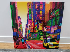 Abstract art canvas - NYC for Sale in Hillsborough, CA