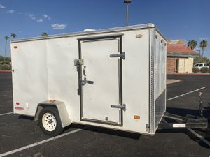 2005 Carson 6 x 12 enclosed utility cargo trailer for Sale in Chandler, AZ
