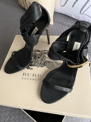 Burberry Leather Strap Heels for Sale in Nashville, TN