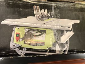 RYOBI 15 Amp 10 in. Table Saw with Folding Stand for Sale in Phoenix, AZ