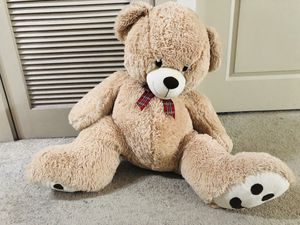 4 foot plush Teddy Bear, very soft, light brown for Sale in Pittsburgh, PA