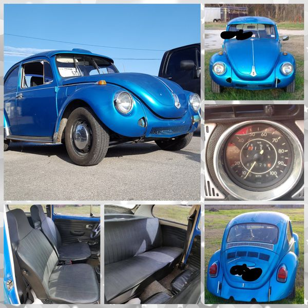 1972 Volkswagen Super Beetle VW