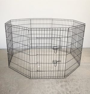 """New in box $40 Foldable 36"""" Tall x 24"""" Wide x 8-Panel Pet Playpen Dog Crate Metal Fence Exercise Cage for Sale in Whittier, CA"""