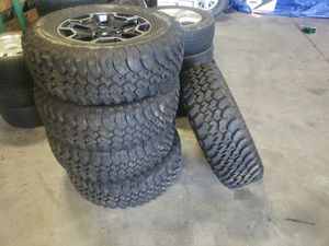 Jeep wheels and tires for Sale in Port Richey, FL