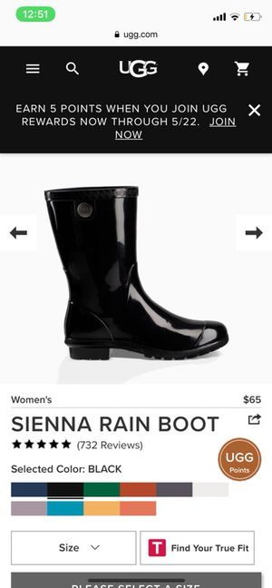 SIENNA RAIN BOOTS (Uggs) for Sale in Fort Belvoir, VA
