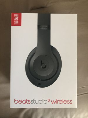 Beats by Dr. Dre - Beats Studio³ Wireless Noise Cancelling Headphones - Gray for Sale in Haines City, FL