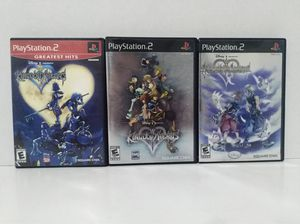 Kingdom Hearts 1, 2 and Re: Chain of Memories Complete for Sale in Cypress, TX