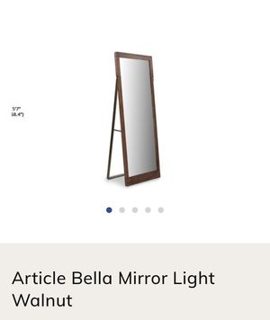 Article Bella Full Length Mirror A frame Leaning for Sale in San Francisco, CA