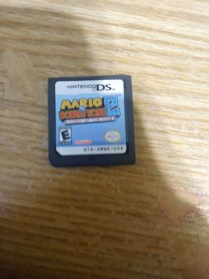 Mario vs donkey kong 2 ds game for Sale in Erie, PA