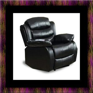 Black recliner chair for Sale in Oxon Hill, MD