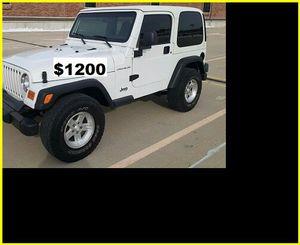 ֆ12OO Jeep Wrangler for Sale in Inglewood, CA