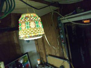 Vintage overhead lamp for Sale in Pasadena, TX